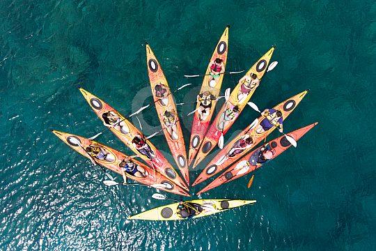 Kayak Tour auf Rhodos