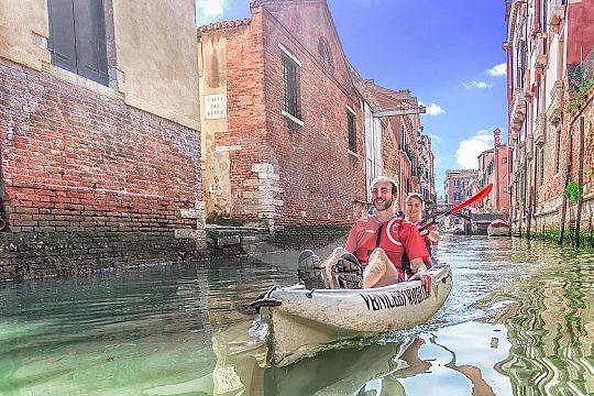 Murano Glas mit einer Kajak Tour