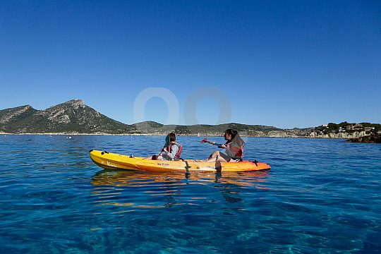 Mallorca Kayak fahren