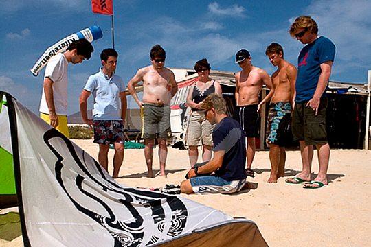 Kite Schule auf Fuerteventura