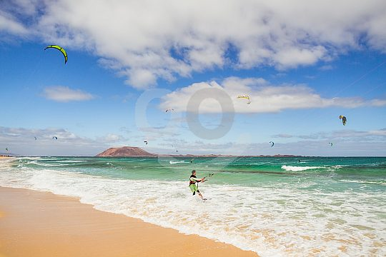 Kitesurfen auf den Kanaren