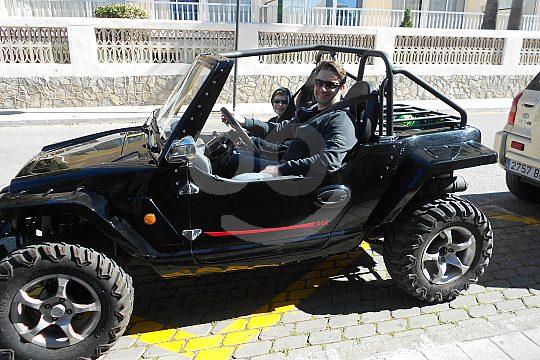Mini Jeeps für 2 Personen