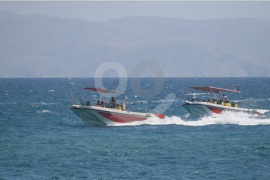 Mit dem Boot auf Kreta