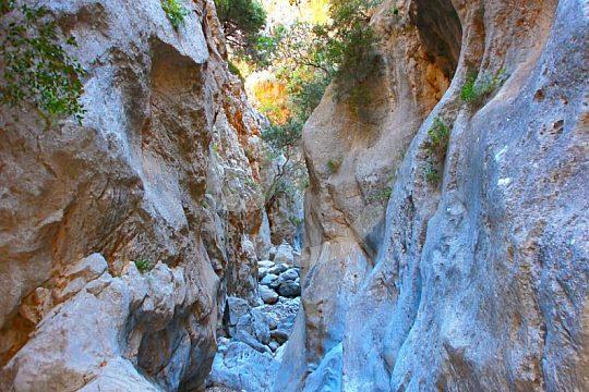 Wanderung durch die Kritsa Schlucht Kreta