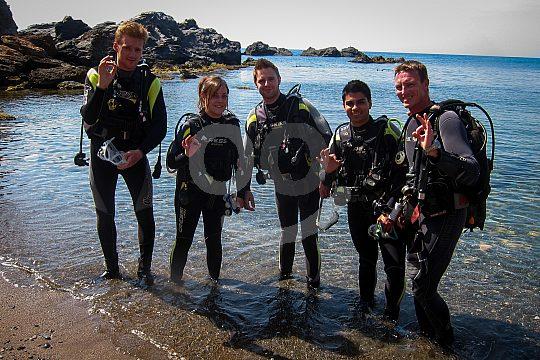 Open Water Diver Tauchkurs Mar Menor