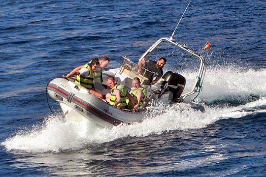 Fahrt im Schnellboot Fuerteventura