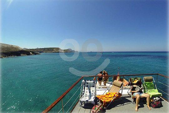 fantastische Aussicht auf die Levante-Küste