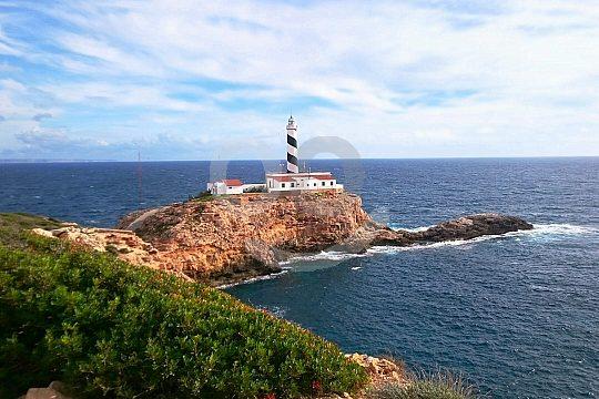 Leuchtturm von Cala Figuera