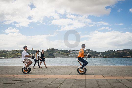 Mit zwei Rädern durch Lissabon