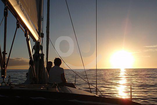 ab Playa de las Americas auf Segeltörn