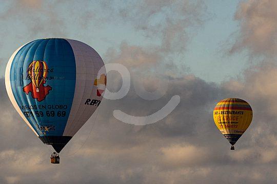Mallorca aus der Luft im Ballon