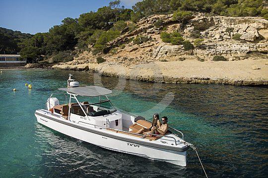 Motorboot chartern Calanova