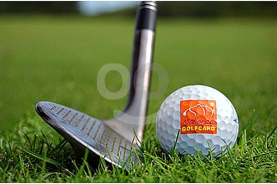 mallorca golf card schlaeger und ball