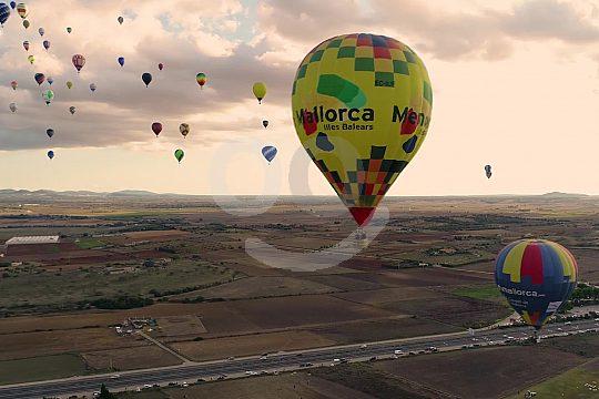 Mallorca Ballon Flug in der Inselmitte