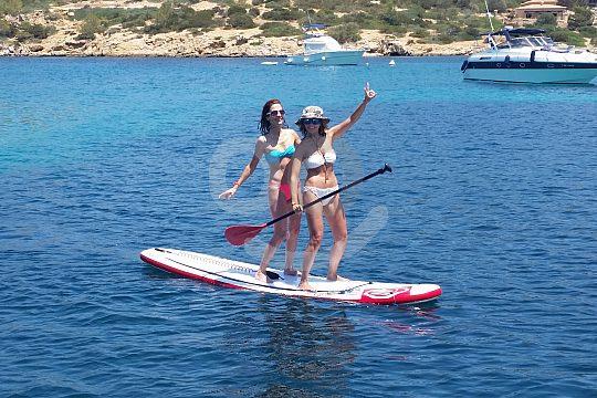 Wassersport vom Boot aus