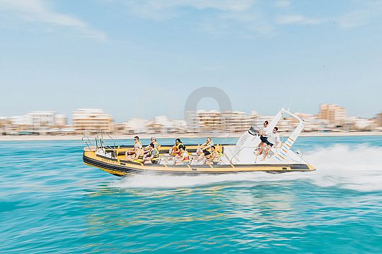 Speedboot fahren an der Playa de Palma