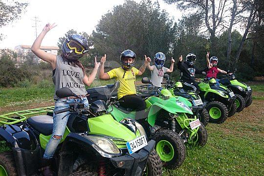 mallorca quad tour arenal action