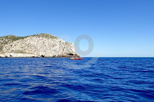 Dragonera Kajak Ausflug Mallorca