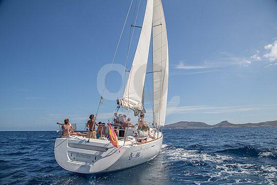 Segelschiff Mallorca