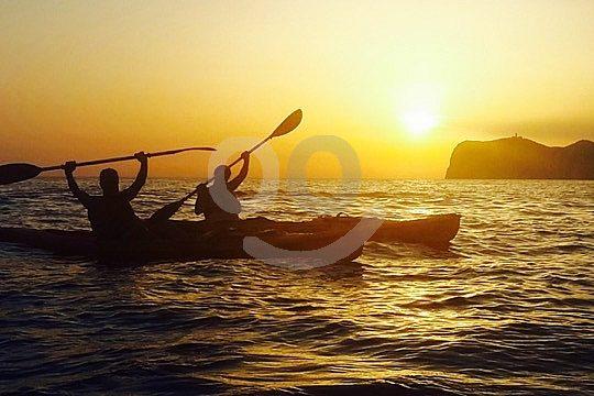 Sunset Kajak Ausflug