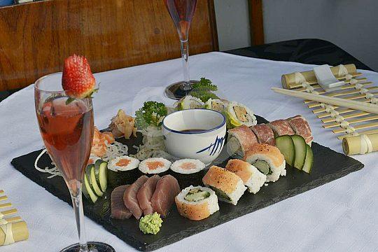 Bootsausflug auf Mallorca mit Essen und Getränken