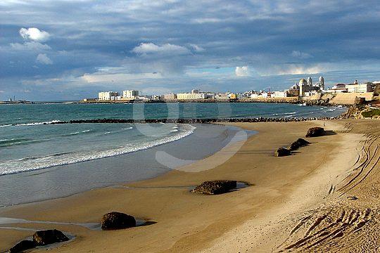 Strand von Càdiz auf der Fahrrad Tour entdecken
