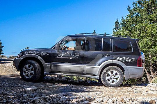 7-Sitzer Jeeps bei Tour auf Kreta
