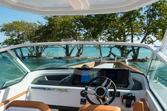 Aussicht Motorboot Calanova