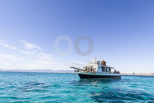 Bootstour auf dem Mittelmeer