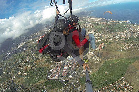 Teneriffa Paragliding Norden der insel