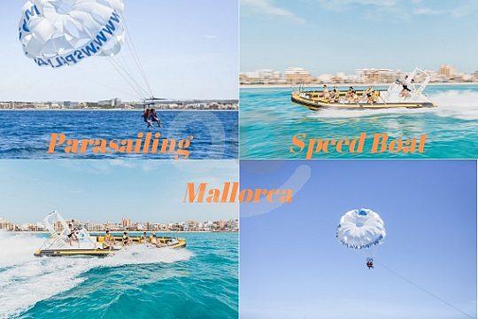 Parasailing Speedboat Wassersport Paket