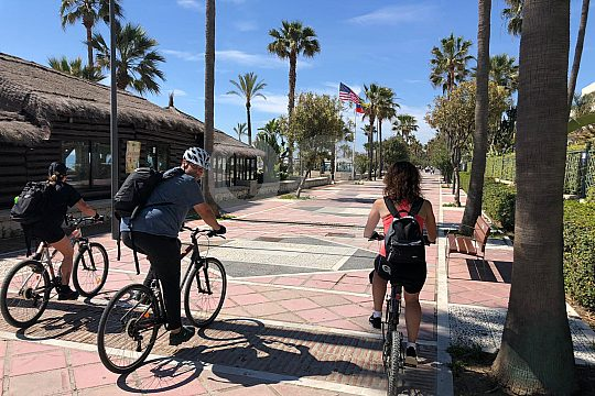 Tour in Málaga mit dem Fahrrad