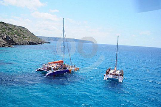 Mallorca Party auf dem Boot