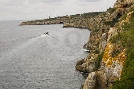 Steilklippen auf der Bootstour