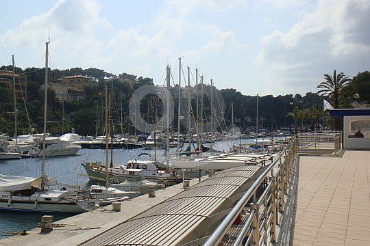 Besuch am Hafen Mallorca