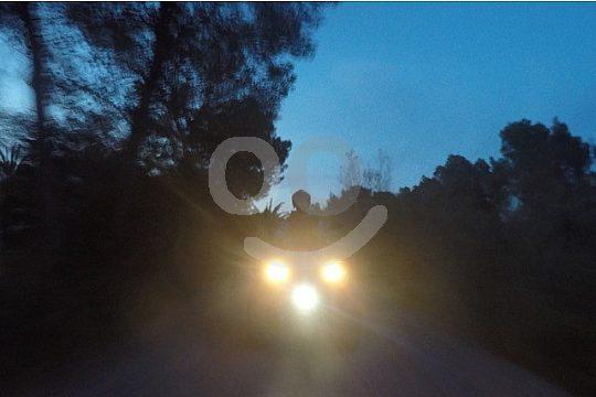 Bei Nacht Quad fahren auf Mallorca