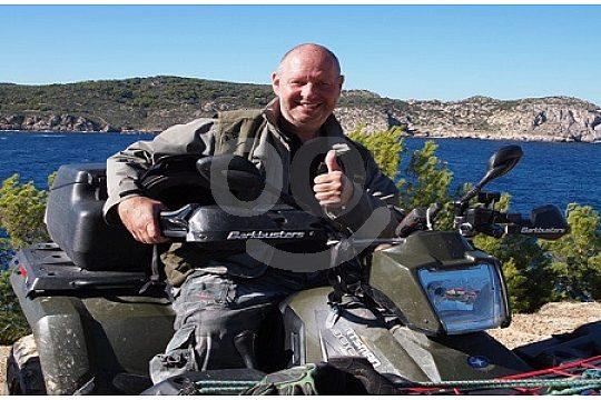 In Mallorca Quad fahren