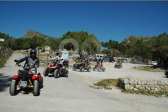 Quad-Strecke im Osten Mallorcas