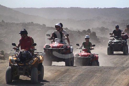 Geführte Quadtour Fuerteventura