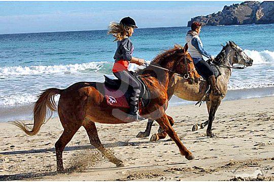 Ausritte am Strand auf Mallorca