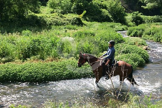 Abenteuer Reitferien in der Toskana
