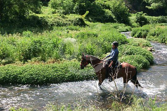 Ausritt durch das Flusstal Lente