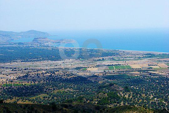 Küstenpanorama auf Rhodos