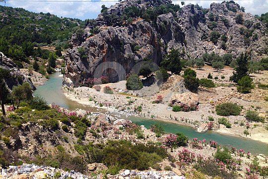 auf Rhodos wandern von Masari nach Kalathos