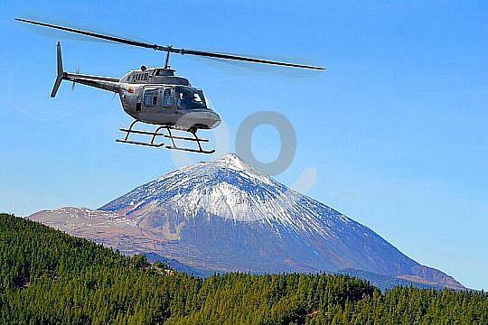 Rundflug Hubschrauber Teide Teneriffa