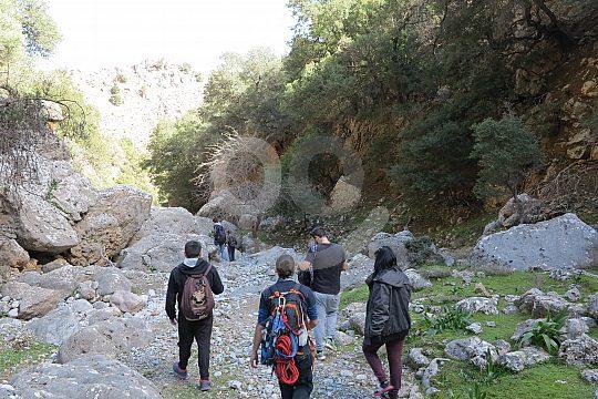 Reizvolle Wanderwege auf Kreta