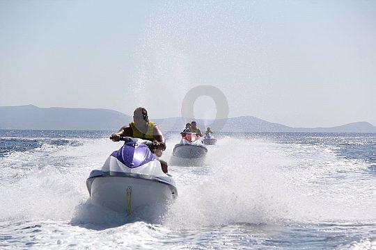 Jet Ski Safari auf Kreta