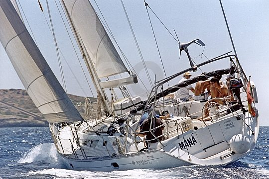 Mallorca Segeltörn in die Cala Vella