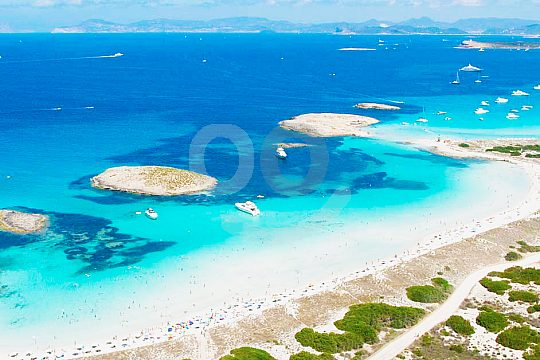 Tagestour Formentera Wasser