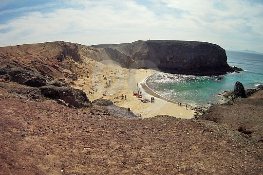 Playa Papagayo in Lanzarote
